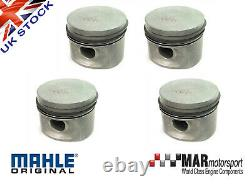 4 x Ford 2.0 OHC Pinto RS 2000 Capri MAHLE PISTONS 91.33mm High Comp