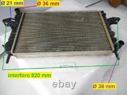 Radiatore acqua raffreddamento motore Ohc 2.0 efi 115ps s/AC Ford Sierra