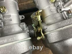 WEBER 44 IDF für Ford OHC Pinto 2.0 Escort MK1 MK2 Doppelvergaseranlage