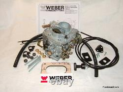 Weber Carb/carburettor 32/34 Dmtl Ford 2.0 Ohc Replaces 30/34 Dfth