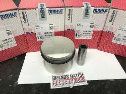 4 X Ford 2.0 Ohc Pinto Mahle Pistons +1mm Haute Compression