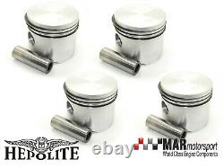 4 X Ford 2.0 Ohc Pinto Rs 2000 2.1 Conv Hépolite Pistons 93.05mm High Comp