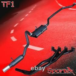 Sportex Ford Capri 1.6, 2.0 Ohc Pinto Collecteur D'échappement De Performance Et Système S2