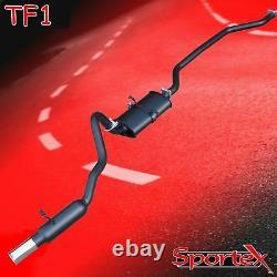 Sportex Ford Capri 1.6, 2.0 Ohc Pinto Système D'échappement De Performance S2