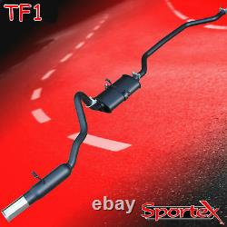Sportex Ford Capri 1.6, 2.0 Ohc Pinto Système D'échappement De Performance S3
