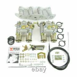 Weber 48 Dco/sp Carburettor Kit De Conversion Pour Ford 2.0/2.1l Ohc Pinto Engine